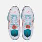 Женские кроссовки Nike P-6000 White/White/Oracle Aqua/Magic Flamingo фото - 1