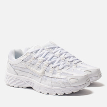 Женские кроссовки Nike P-6000 White/White/Platinum Tint фото- 0