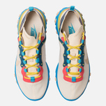 Женские кроссовки Nike React Element 55 Light Cream/Desert Ore/Light Blue Fury фото- 5