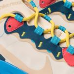 Женские кроссовки Nike React Element 55 Light Cream/Desert Ore/Light Blue Fury фото- 6