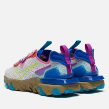 Женские кроссовки Nike React Vision Photon Dust/Lemon Venom/Hyper Blue фото- 2