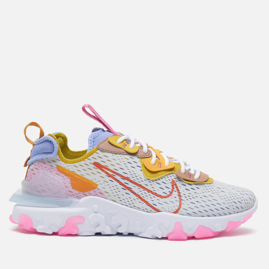 Женские кроссовки Nike React Vision Pure Platinum/Rust Factor/Light Thistle