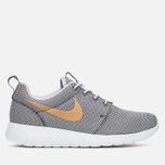 Женские кроссовки Nike Roshe One Anthracite/Gold/Grey фото- 0