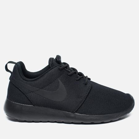 Женские кроссовки Nike Roshe One Black/Dark Grey