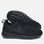 Женские кроссовки Nike Roshe One Black/Dark Grey фото- 1