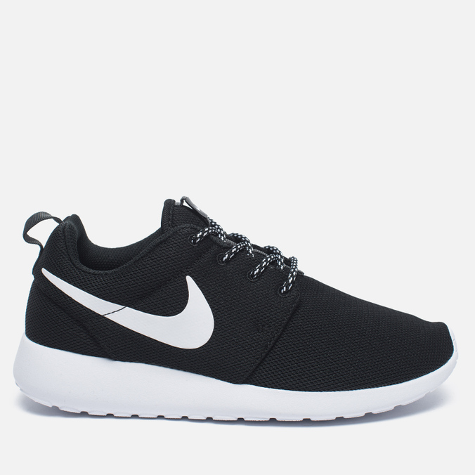 Женские кроссовки Nike Roshe One Black/White/Dark Grey