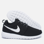 Женские кроссовки Nike Roshe One Black/White/Dark Grey фото- 2
