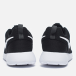 Женские кроссовки Nike Roshe One Black/White/Dark Grey фото- 3