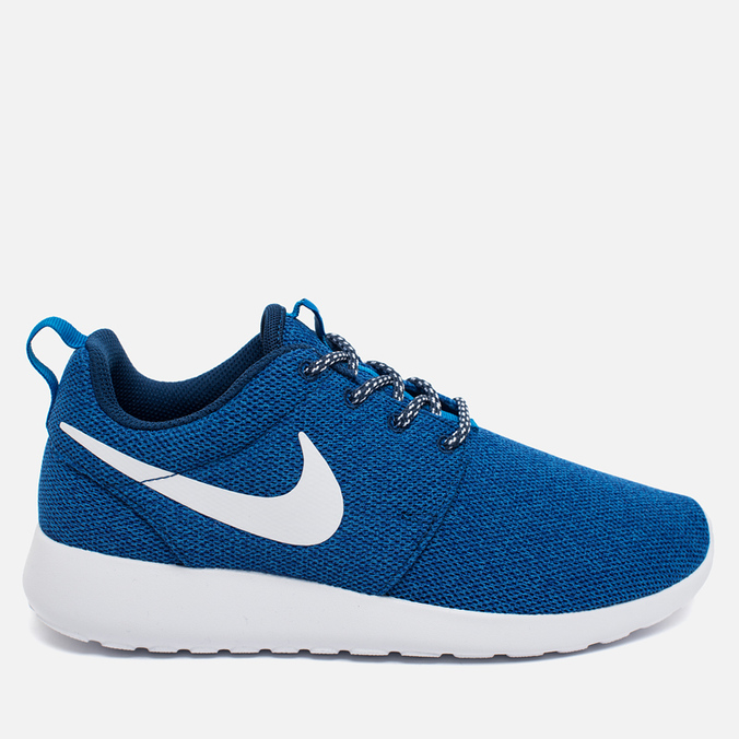 Женские кроссовки Nike Roshe One Blue/White