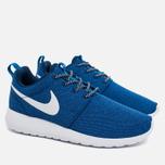 Женские кроссовки Nike Roshe One Blue/White фото- 1