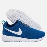 Женские кроссовки Nike Roshe One Blue/White фото- 2