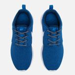 Женские кроссовки Nike Roshe One Blue/White фото- 5