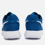 Женские кроссовки Nike Roshe One Blue/White фото- 4