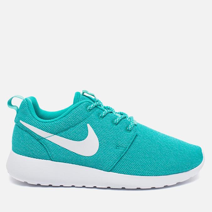 Женские кроссовки Nike Roshe One Hyper Jade/White