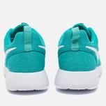 Женские кроссовки Nike Roshe One Hyper Jade/White фото- 3
