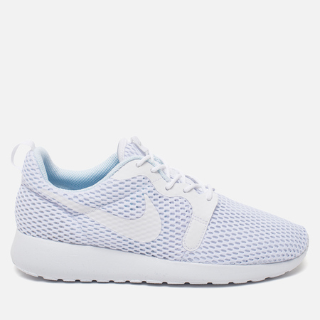 Женские кроссовки Nike Roshe One Hyperfuse BR White/Pure Platinum