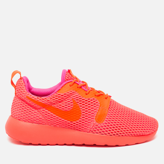 Nike Roshe One Hyperfuse Brezze Women's Sneakers Total Crimson/Pink Blast