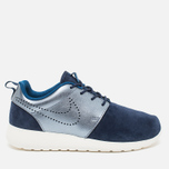 Женские кроссовки Nike Roshe One Premium Suede Midnight Navy фото- 0