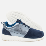 Женские кроссовки Nike Roshe One Premium Suede Midnight Navy фото- 2