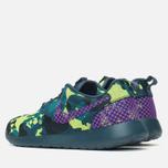 Женские кроссовки Nike Roshe One Premium Plus Mid Teal/Purple/Emerald фото- 2