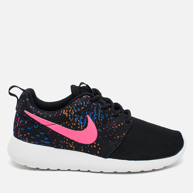 Nike Roshe One Print Women's Sneakers Blue/Red