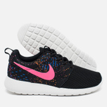 Nike Roshe One Print Women's Sneakers Blue/Red photo- 1
