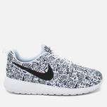Женские кроссовки Nike Roshe One Print Premium Doodle White/Black фото- 0