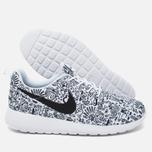 Женские кроссовки Nike Roshe One Print Premium Doodle White/Black фото- 2