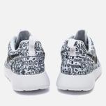 Женские кроссовки Nike Roshe One Print Premium Doodle White/Black фото- 3