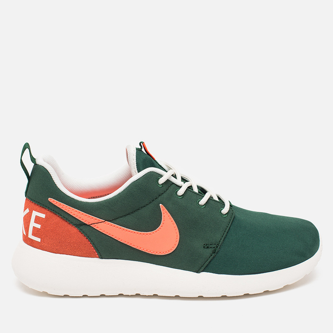 Женские кроссовки Nike Roshe One Retro Gorge Green/Mango