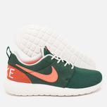 Женские кроссовки Nike Roshe One Retro Gorge Green/Mango фото- 2