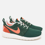Женские кроссовки Nike Roshe One Retro Gorge Green/Mango фото- 1
