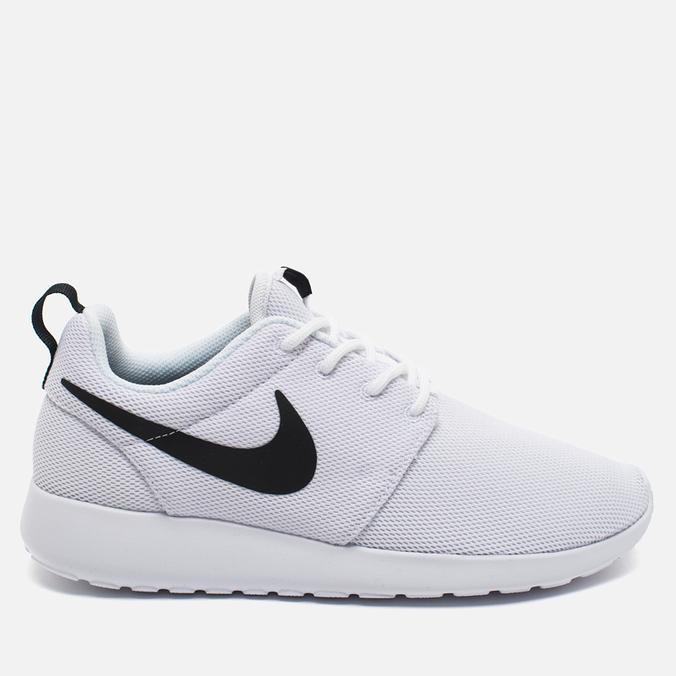 Женские кроссовки Nike Roshe One White/Black