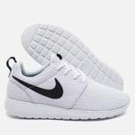 Женские кроссовки Nike Roshe One White/Black фото- 2