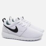 Женские кроссовки Nike Roshe One White/Black фото- 1