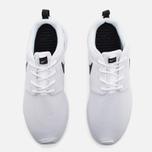 Женские кроссовки Nike Roshe One White/Black фото- 4