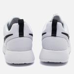 Женские кроссовки Nike Roshe One White/Black фото- 3