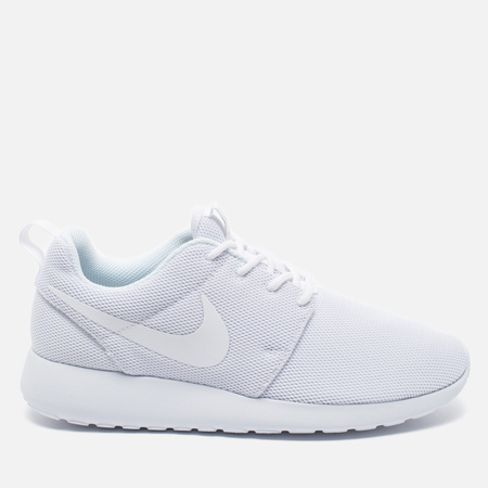 Женские кроссовки Nike Roshe One White/Pure Platinum