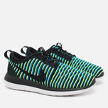Женские кроссовки Nike Roshe Two Flyknit Black/Photo Blue/Volt фото- 1