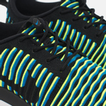 Nike Roshe Two Flyknit Women's Sneakers Black/Photo Blue/Volt photo- 5