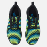 Женские кроссовки Nike Roshe Two Flyknit Black/Photo Blue/Volt фото- 4