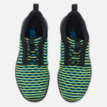 Nike Roshe Two Flyknit Women's Sneakers Black/Photo Blue/Volt photo- 4