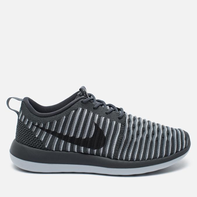 Женские кроссовки Nike Roshe Two Flyknit Dark Grey
