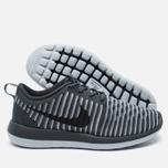 Женские кроссовки Nike Roshe Two Flyknit Dark Grey фото- 2