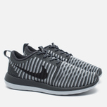 Женские кроссовки Nike Roshe Two Flyknit Dark Grey фото- 1