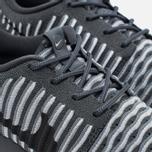 Женские кроссовки Nike Roshe Two Flyknit Dark Grey фото- 5