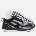 Женские кроссовки Nike Roshe Two Flyknit Black/White фото- 2