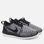 Женские кроссовки Nike Roshe Two Flyknit Black/White фото- 1