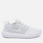 Женские кроссовки Nike Roshe Two Triple White фото- 0