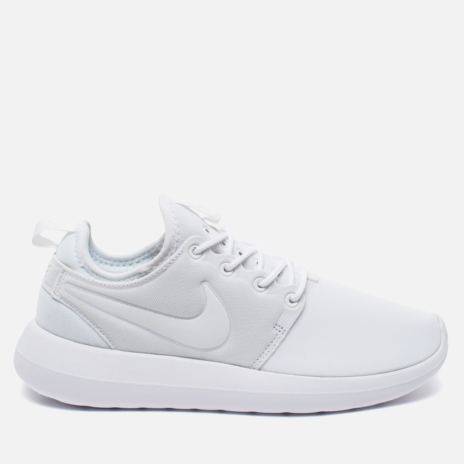 Женские кроссовки Nike Roshe Two Triple White